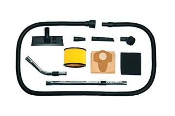 Einhell Nass Trockensauger TE-VC 2230 SA (1150 W, 220 mbar, 30 l, Edelstahlbehälter, 3 m Saugschlauch, Geräte-Steckdose, umfangreiches Zubehör, ECO Power) -