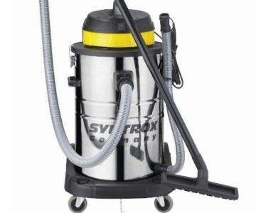 Syntrox Germany 3900 Watt 80 Liter Staubsauger Edelstahl Industriesauger Nass und Trockensauger -