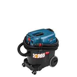 Bosch Professional GAS 35 L AFC, 1.380 W Max., 35 l Behältervolumen, Fugendüse 250 mm, Flachfaltenfilter PES, Krümmer, Bodendüsen-Set, 3x Saugrohr verchromt -