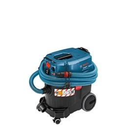 Bosch Professional GAS 35 M AFC Nass-& Trockensauger, 35 L Behältervolumen, automatische Filterreinigung, Staubklasse M -