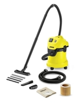 Kärcher Mehrzwecksauger WD 3 P Extension Kit mit Steckdose und 1,5 m Saugschlauchverlängerung -